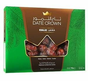 デーツクラウン デーツ 1kg ( ナツメヤシ / 無添加 / 砂糖不使用 / 非遺伝子組換え / ドライフルーツ / Khala