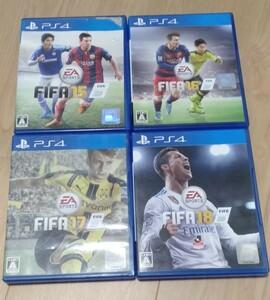 FIFA15 FIFA16 FIFA17 FIFA18
