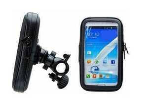 新品 未使用 スマホホルダー 自転車 バイク 防水 iPhone6/7 plus garmin 対応 ケース スタンド GPS スマホスタンド マウント 携帯電話