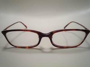 32520 JiNS/ジンズ クラシック スクエア型 眼鏡フレーム ケース付き