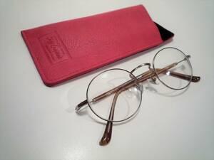 32596 Zoff/ゾフ RINA TANAKA リナタナカ ラウンド型眼鏡フレーム ケース付き
