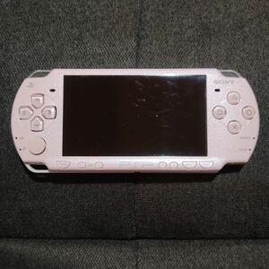 SONY PSP-2000 本体 プレイステーションポータブル PSP ピンク PSP本体 ソニー