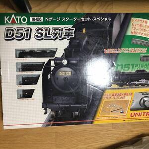 カトー KATO D51 SL列車 Nゲージ スターターセット スペシャル 蒸気機関車 鉄道模型 10-005