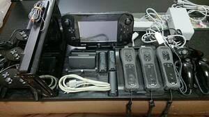 【ニンテンドー(Nintendo)】Wii U プレミアムセット(kuro)本体+周辺機器+ゲームソフト