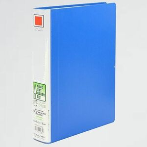 未使用 新品 ファイル コクヨ P-HE 青 フ-RTK630NB パイプ式ファイル エコツインR(両開き) 間伐材使用 A4 2穴 300枚収容
