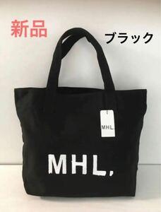 新品 MHL トートバッグ マーガレットハウエル 黒