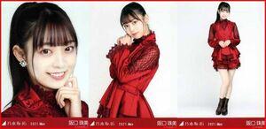 乃木坂46 阪口珠美 紅白2020衣装1 2021年5月ランダム生写真 3種コンプ 3枚 3枚コンプ