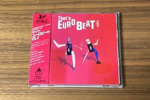 【送料無料/帯付CD】ザッツ・ユーロビート Vol.6 ★ THAT'S EUROBEAT Vol.6 アレフ/マイケルフォーチュナティ/ターシャ 32XB-271