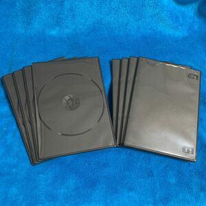 DVD トールケース 黒 8枚セット Blu-ray ブルーレイディスク
