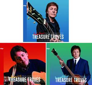PAUL McCARTNEY / TREASURE TROVES ~SOUNDCHECK AND REHEARSALS COLLECTION~ vol1-vol3