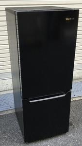 【RKGRE-735】特価!ハイセンス/Hisense/150L 2ドア冷凍冷蔵庫/HR-D15CB/中古品/2017年製/当社より近隣無料配達!/即決あり