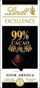 50グラム (x 1) リンツ(Lindt) エクセレンス・99%カカオ 50g