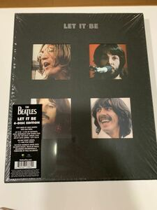 the Beatles LET IT BE super deluxe 5CD/Blu-ray Audio Box Set 輸入盤 美品 ビートルズ スーパーデラックス