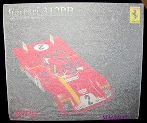 【フリマ】ET☆1/18 G1804104 フェラーリ 312 PB #2 レッド