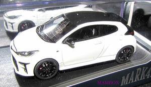【フリマ】ET☆1/43 PM43145AW トヨタ GR YARIS RZ High-performance G16E-GTS Super White Ⅱ