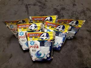 アリエールBIOジェルボール つめかえウルトラジャンボサイズ 洗濯洗剤 63個×6袋