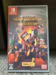 Minecraft dungeons Hero Edition マインクラフトダンジョンズ ヒーローエディション