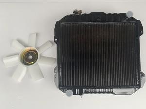 ハコスカ S20 ラジエター ファン 2点セット ラジエーター 真鍮 3層 GT-R 旧車 PGC10 KPGC10
