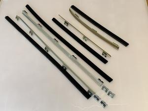 ハコスカ 2D 水切り金具ゴムセット 1台分 ラン モール 旧車 L型 KGC10 KPGC10 GT-R S20 2D HT