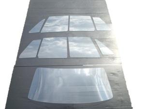 ハコスカ4D白ガラスセット PGC10 GC10 GT-R 旧車 S20 L型 強化ガラス KPGC10 KGC10 ケンメリ S30 ローレル ジャパン