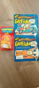 ビンテージ ガーフィールド GARFIELD 3点セット エアフレッシュナー アンテナトッパー 定形外は送料無料