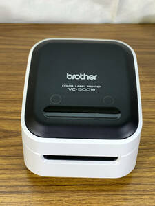 【送料無料】ブラザー カラーラベルプリンター P-touch Color VC-500W ロールカセット4本付き