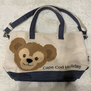 ディズニーシー Cape Cod Holiday ダッフィートートバッグ