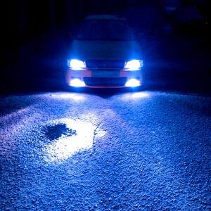 2021年モデル 8000K 純正サイズ 超クールアクアブルー H4 LEDライト