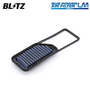 BLITZ ブリッツ サスパワー エアフィルター LM ムーヴコンテカスタム L575S L585S 2008/08~2011/06 KF-VE 59582