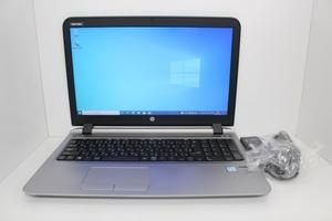 ProBook 450 G3 第6世代 Core i3 6100/4GB/SSD120GB/15.6インチ/Wi-Fi/USB3.0/webカメラ/Windows10 Pro☆