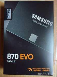 ★サムスン Samsung SATA 2.5inch SSD 870 EVOシリーズ 500GB MZ-77E500B/IT