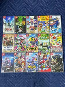 Nintendo Switch ソフト まとめ 15点セット 動作確認済み