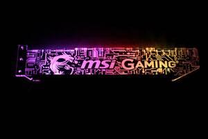 msi グラフィックカードサポート 3ピンRGB
