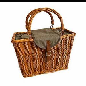 COSTCO ピクニックバスケット 保冷カゴバッグ コストコ カゴバッグ 保冷バッグ