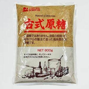 新品 好評 古式原糖 創健社 F-MW 800g×3個 JAN:4901735020195