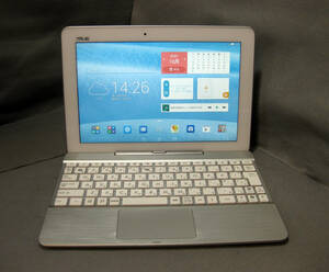 #T886 ASUS Tablet K010 キーボード付きAndroid 難あり