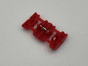 〈AMP エレクトロタップ 赤 1個〉 送料無料 タイコエレクトロニクス 純正 検索用) 接続 結線 配線 分岐 コネクター カプラー