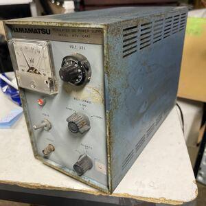 「D127」HAMAMATSU REGULATED DC POWER SUPPLY HTV-C447 通電確認