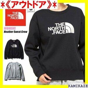 《アウトドア》 THE NORTH FACE ノースフェイス ヘザースウェット ー レディース スウェット NTW61932 19