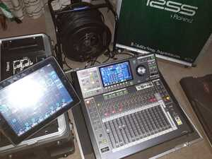 ローランドRSS M-300 デジタルミキサー S-1608 100mイーサネットクロスケーブルセット