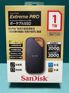 SanDisk ポータブルSSD Extreme PRO [1TB ]