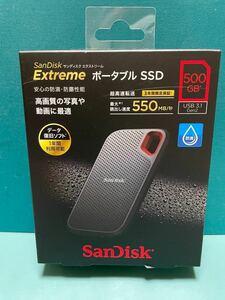 Extreme ポータブルSSD (500GB)
