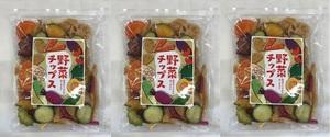 まとめて3袋【廃棄ゼロへ SOS1円スタート】大地から生まれた 野菜チップスまとめて3袋(1袋230g) 賞味期限2021年11月2日