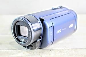 B.6553 JVCケンウッド Wi-Fi対応 4Kビデオカメラ Everio R GZ-RY980-A 動作品