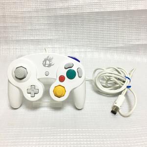 ■ 任天堂 純正 ゲームキューブ コントローラー スマブラホワイト WiiU 限定 生産終了 大乱闘スマッシュブラザーズ Switch DOL-003