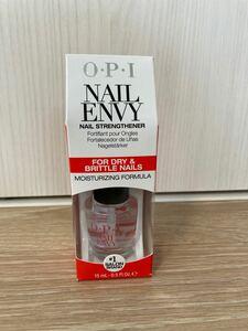 新品 OPI ENVY ドライ&ブリトル ネイルエンビーブリットル ベースコート