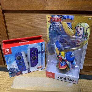 Nintendo Switch Joy-Conゼルダの伝説 amiiboゼルダ&ロフトバード セット