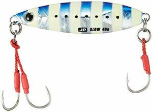 ゼブライワシ 40g メジャークラフト ルアー メタルジグ ジグパラ スロー ライト ショアジギング用