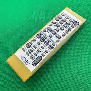 re■m-1689■Victor ビクター RM-SUXQ10-W オーディオリモコン ヤケあり