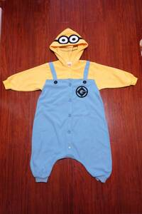 DESPICABLE ME3 ミニオン 着ぐるみ コスチューム コスプレ ハロウィン 衣装 仮装 寝巻き 110 ZIOAOAMT